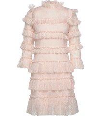 carmine mini dress korte jurk roze by malina