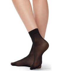 calzedonia 15 denier long-lasting socks woman black size tu