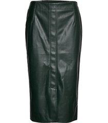 skirts woven knälång kjol grön esprit casual