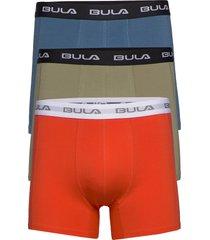 bula 3pk boxers boxerkalsonger orange bula
