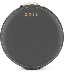 0711 medium evi cosmetic bag - grey