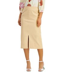 alfani petite pull-on skirt, created for macy's