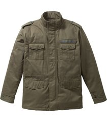 giacca con stampa sulla schiena regular fit (verde) - john baner jeanswear