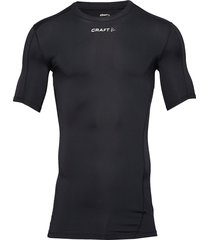 pro control compression tee unisex t-shirts short-sleeved svart craft