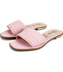 sandalia dama rosado tellenzi 813