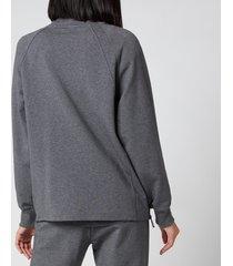 varley women's atlas sweatshirt - forged iron marl - m