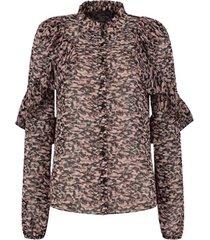 sia ruffled blouse