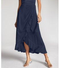 inc international concepts ruffled wrap skirt, created for macy's