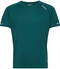xvent g2 s/s tee-m t-shirts short-sleeved grön 2xu