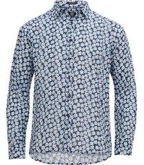 skjorta small paint flower shirt