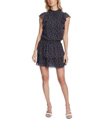 1.state printed ruffled dress
