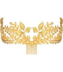 corona dei capelli romani della fascia della coppa del cappello dell'oro della sposa della pettorale dell'annata 20