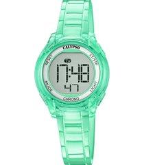 reloj color run verde calypso