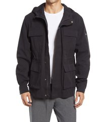 men's alo men's division hooded field jacket