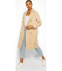 contrast colour trenchcoat, pink