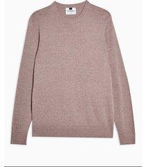 mens purple twist essential sweater