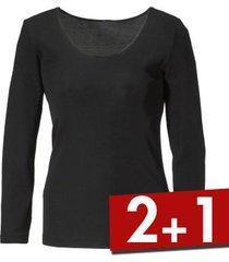 damella wool and silk long sleeve top