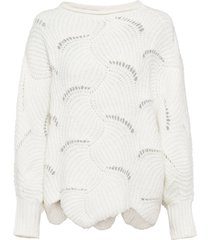 maglione oversize (bianco) - bodyflirt