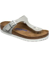 gizeh shoes summer shoes flat sandals grå birkenstock