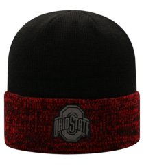 top of the world ohio state buckeyes cold brew knit hat