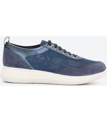 tenis casuales mujer stonefly z0q9 azul oscuro