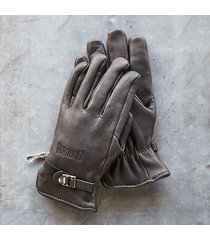 marker deerskin work gloves
