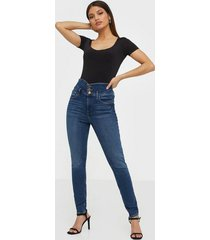 river island hailey high rise regular jeans slim