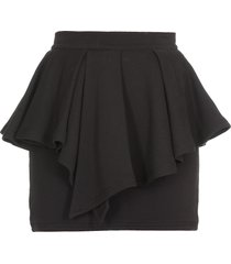 alexandre vauthier cotton skirt