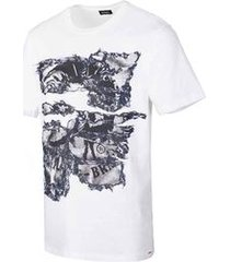 camiseta diesel t-joe-nc branca