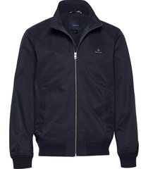 d1. the spring hampshire jacket bomberjack jack blauw gant