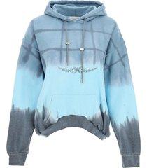 collina strada rhinestone hoodie