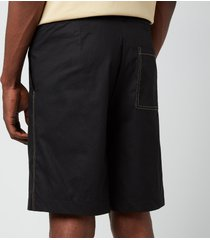 holzweiler men's raford shorts - black - l
