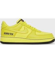 nike sportswear air force 1 gtx sneakers yellow