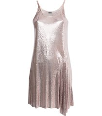 paco rabanne x the webster chainmail dress