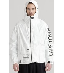 kurtka tyvek cape town zip-up