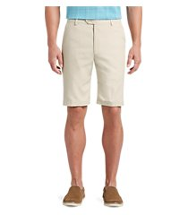 david leadbetter tailored fit flat front shorts clearance by jos. a. bank