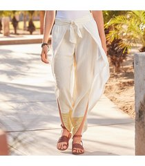 scad garments & textiles sunshine striped pants