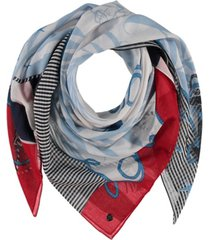 fraas love by the sea sqaure scarf