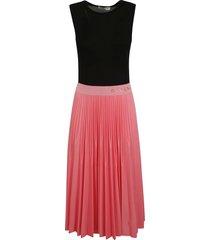 givenchy pleated sleeveless dress