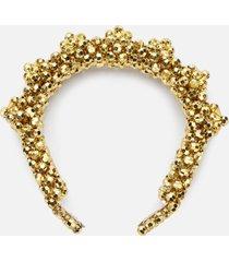shrimps women's blaze headband - gold