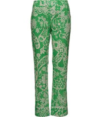 bon trouser pantalon met rechte pijpen groen hope