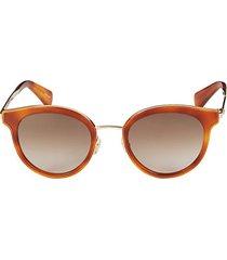 lisanne 50mm round sunglasses