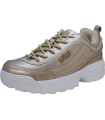 tenis urban authentic-lafi-dorado