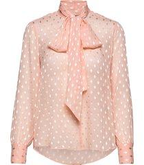 3162 - marley blouse lange mouwen roze sand