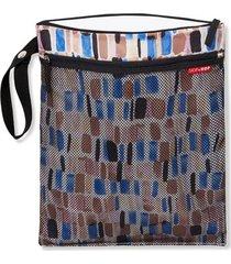 bolsa (grab & go) wet/dry bag - brush stroke skip hop