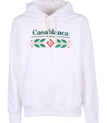 casablanca embroidered hoodie