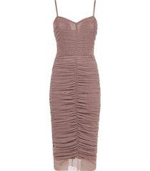 dolce & gabbana body fit mid-length sleeveless dress