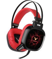audifonos gamer diadema wesdar gh9 cerberus 3.5mm + usb 7.1