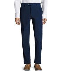 pt01 men's slim-fit corduroy trousers - brown - size 54 (38)