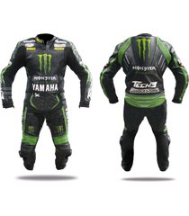 men green black kawasaki motorcycle leather suit jacket pants ce approved pads